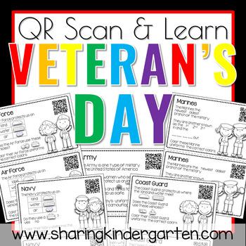 QR Scan & Learn~ Veteran's Day Book