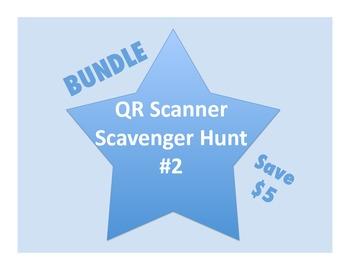 QR Scanner Scavenger Hunt Bundle #2