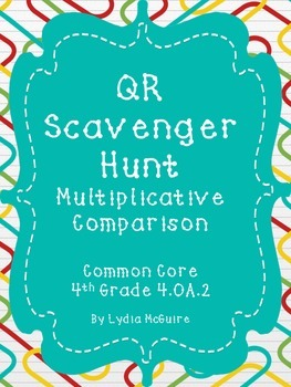 QR Scavenger Hunt 4.OA.2