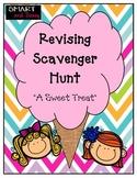 4th Grade QR Scavenger Hunt ELA Revising TEKS Aligned STAAR Review