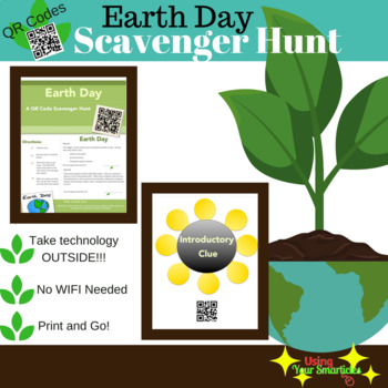 Earth Day - QR Scavenger Hunt