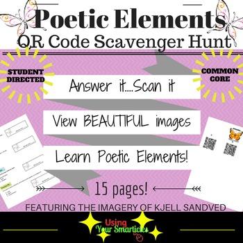 QR Scavenger Hunt - Figurative Language