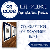 Science Review Activity - QR Codes