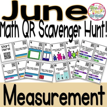 QR Math Scavenger Hunt - Measurement