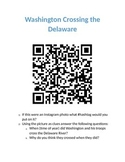 QR Scavenger Hunt- Revolutionary War Review