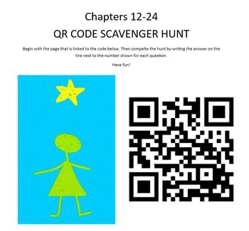 QR Scavenger Hunt STARGIRL CH 12-24