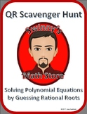 QR Scavenger Hunt: Solving Polynomial Equations with the Rational Root Theorem
