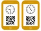 QR Scavenger Hunt Telling Time to 5 Minutes