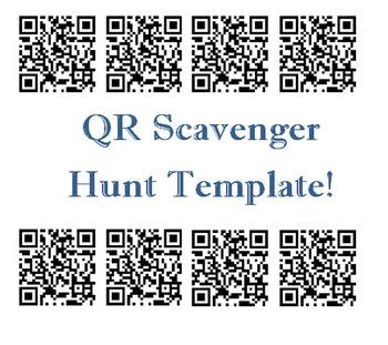 QR Scavenger Hunt Template
