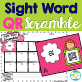 QR Sight Word Scramble
