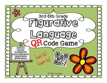 QR Sorting Game:  Figurative Language for Intermediate Grades