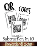QR Subtraction in 10