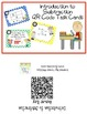 QR Taks Cards Introduction to Subtraction
