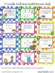 QR Task Cards Mid-Year Math Review