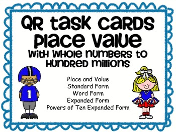 QR Task Cards: Place Value