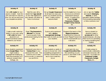 QR Teacher Challenge