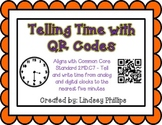 QR Telling Time to the Nearest 5 Minutes