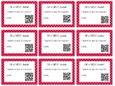 QR Valentines from the teacher