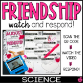 QR Watch and Respond Sheet FRIENDSHIP - August