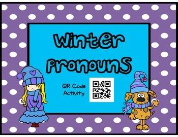 QR Winter Pronouns