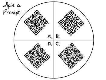 QR Writing Spinners!