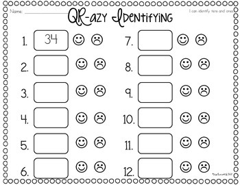 QR-azy Numbers and Operations in Base Ten
