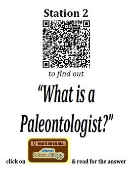 QR code - Scavenger Hunt - Fossils