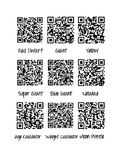 QR code anchor activity for Stars and Planets