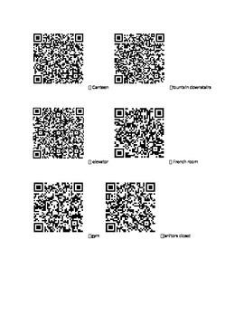 QR code hunt- Social Studies Review for Canada's Physical Landscape