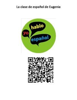QR code la clase de español de Eugenia #3
