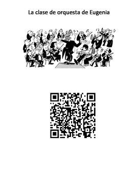 QR code la clase de orchesta de Eugenia #6