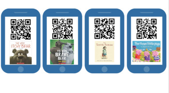 QR code picture book GROWING BUNDLE
