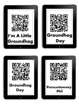 QR codes  Groundhog Day