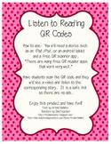 QR codes : Listen to Reading