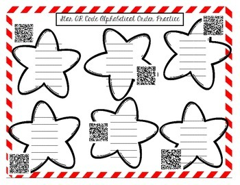 QR codes for ABC order