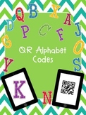 QR codes for Alphabet