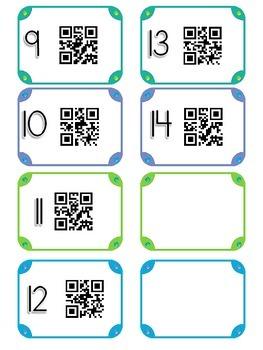QR codes for Alphabet