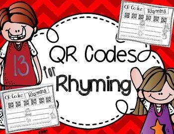 QR codes for Rhyming