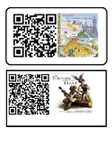 QR codes with highlighted text