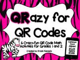 QR Code Pack: QRazy for QR Codes {Grades 1 & 2}