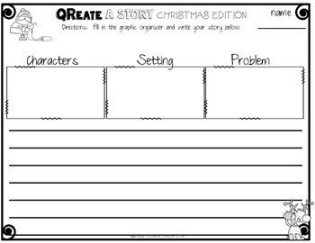 QReate A Story: Christmas Edition!  QR Codes and Creative Writing