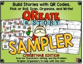 QReate A Story: Christmas Edition!  QR Codes and Creative