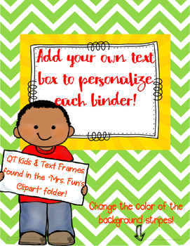 QT Kid Binder Covers Freebie!