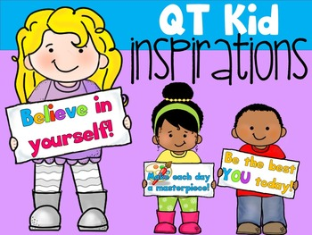 QT Kid Inspirations! - Personal and Commercial use