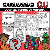 QU DIGRAPH WORKSHEETS