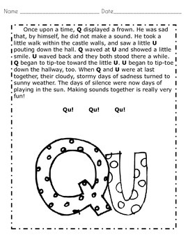 Kindergarten Qu Wedding Packet