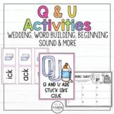QU Activities Wedding Optional