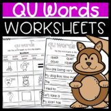 QU Worksheets : Sorts, Matching, Read and Draw, and More