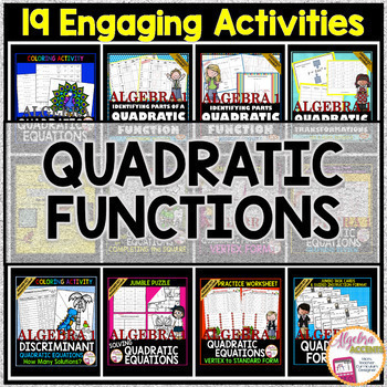 QUADRATIC FUNCTIONS Bundle