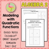 Modeling With Quadratic Functions Worksheets & Teaching